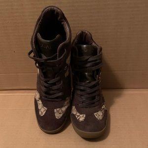 Coach wedge sneakers